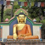 Nepal Buddha Swayambunath © Women Travel