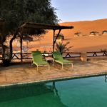 Oman - Hotel 1000 Nights Camp Pool © Women Travel