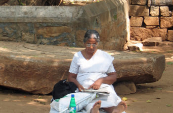 Mediation unter dem Bodhibaum in Sri Lanka © Women Travel