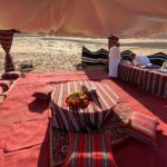 Oman Luxury Camp Privat Tisch © ET Oman