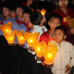 Kalaw Lichterfest Kinder © Womentravel.ch